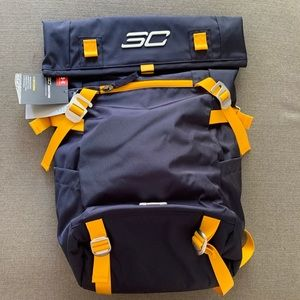NWT Under Armour Steph Curry Blue Backpack